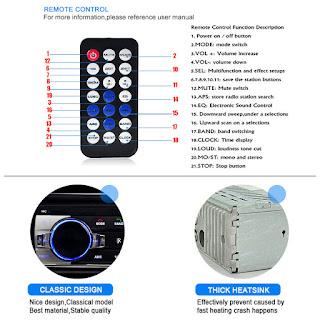 LETTORE MP3 JSD520 PER AUTO