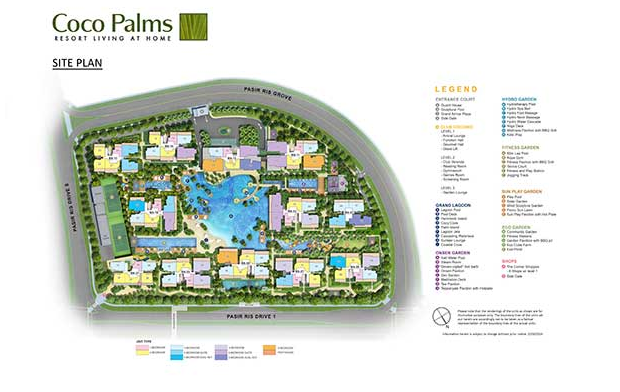 Coco Palms @ Pasir Ris Site Plan