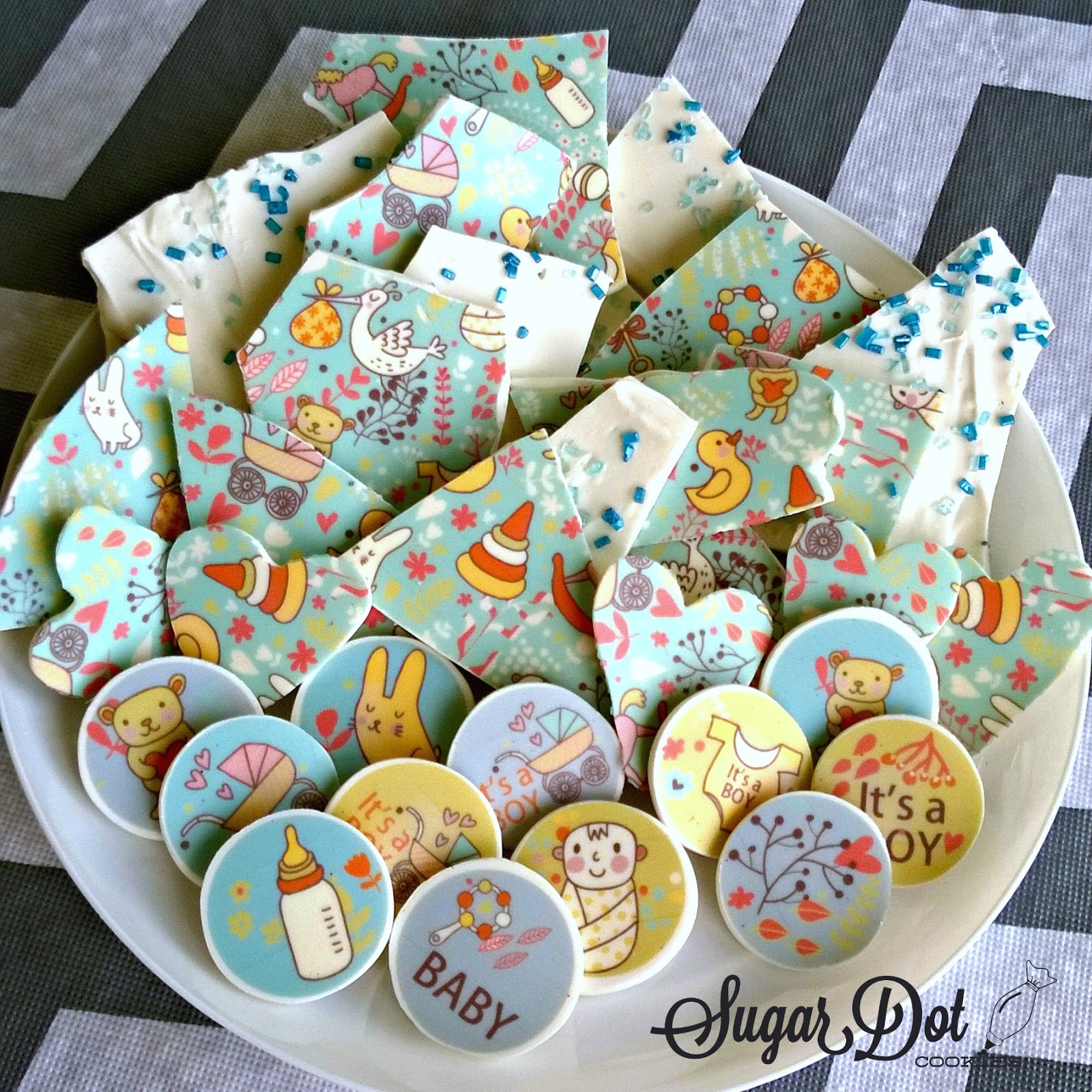 sugar dot cookies sugar stamps candy melt confections and cookies