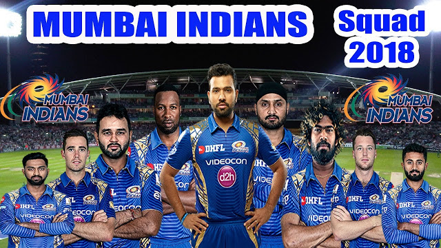 IPL 2018 Team Players List