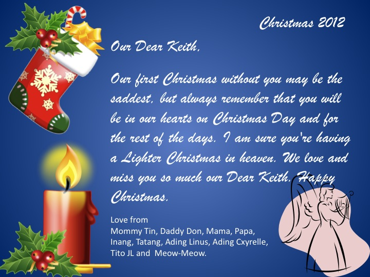 Bereavement Messages And Quotes - 365greetings.com  |Christmas Cards For The Grieving