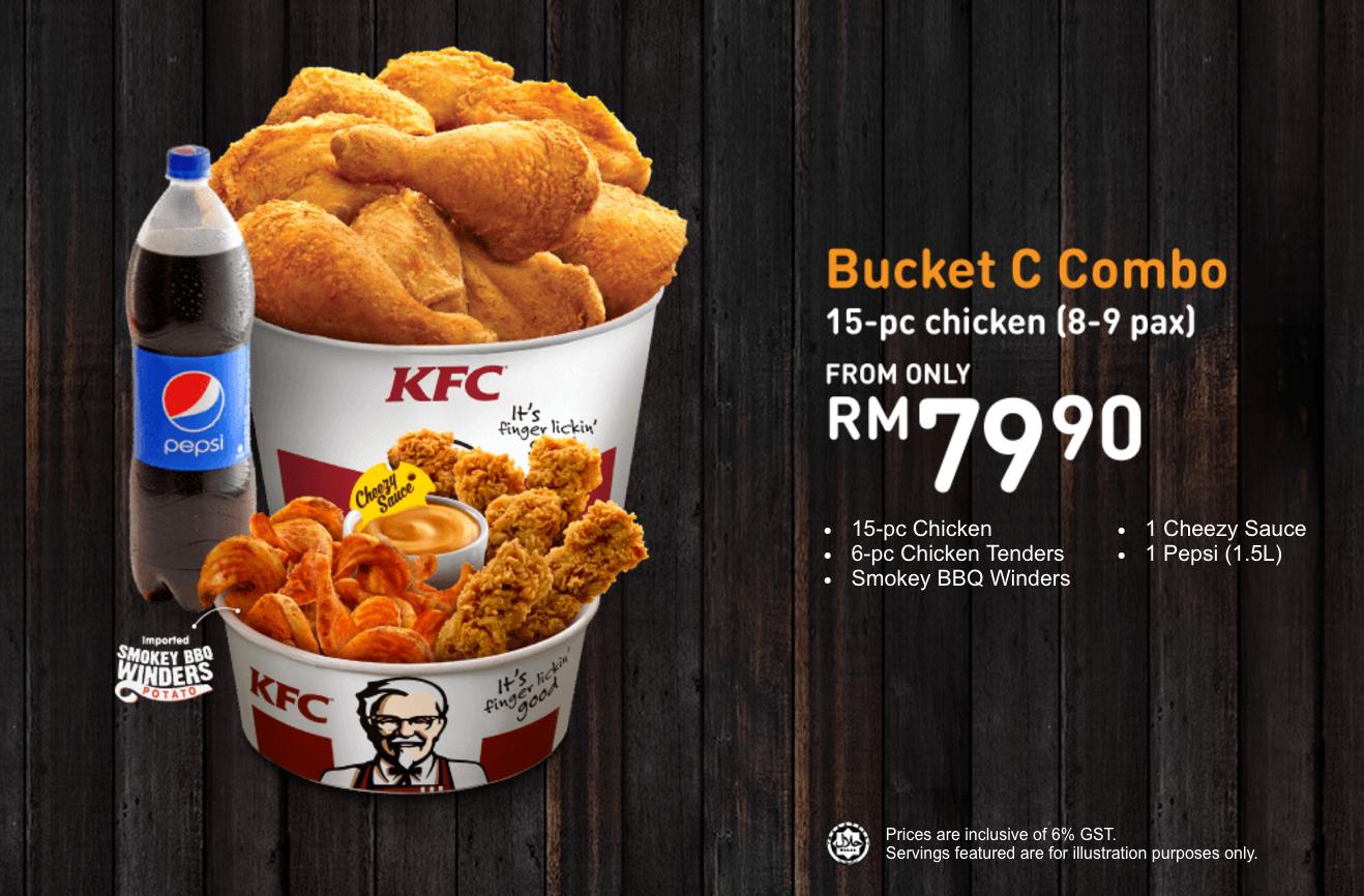(Video) KFC Mula Jual Bucket Berganda, Tapi Apa Yang ...