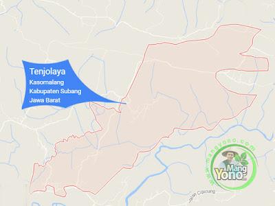 PETA : Desa Tenjolaya, Kecamatan Kasomalang