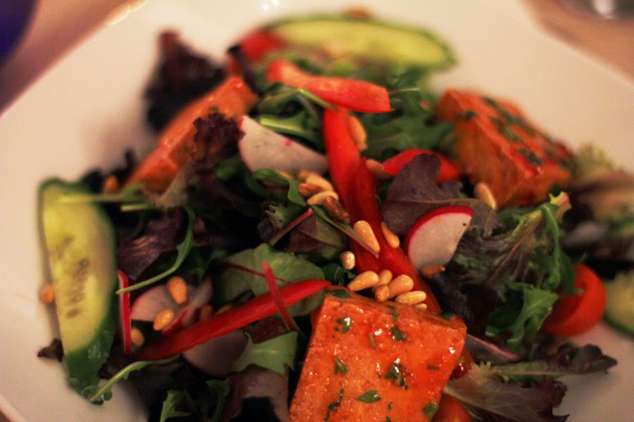tofu salat vegaan clean eating healthy food