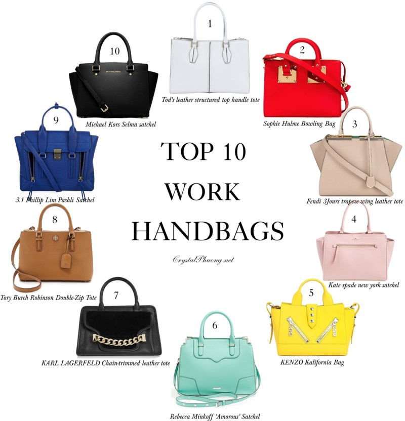 Crystal Phuong- Fashion Blog- Top 10 work bags