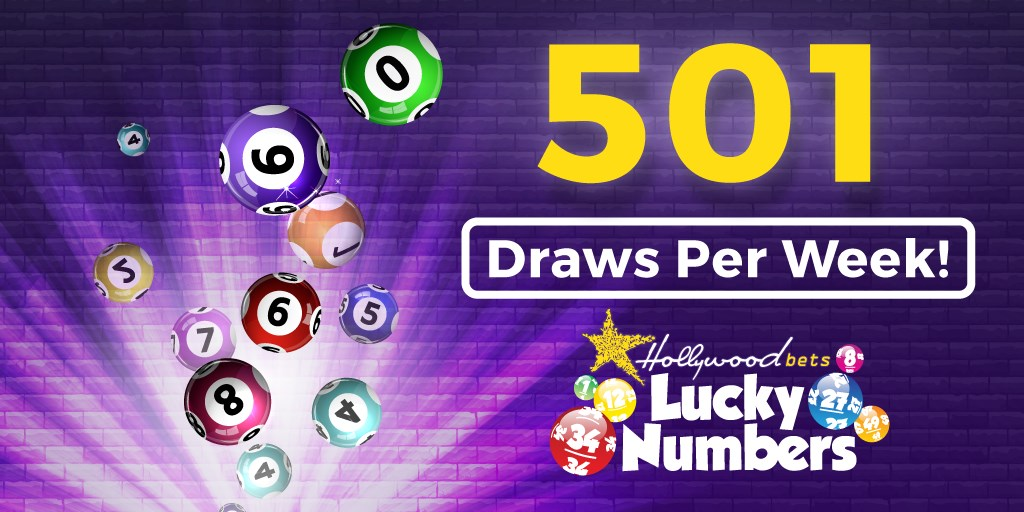 501 Lucky Numbers Draws Every Week! - Lotto Betting - Hollywoodbets