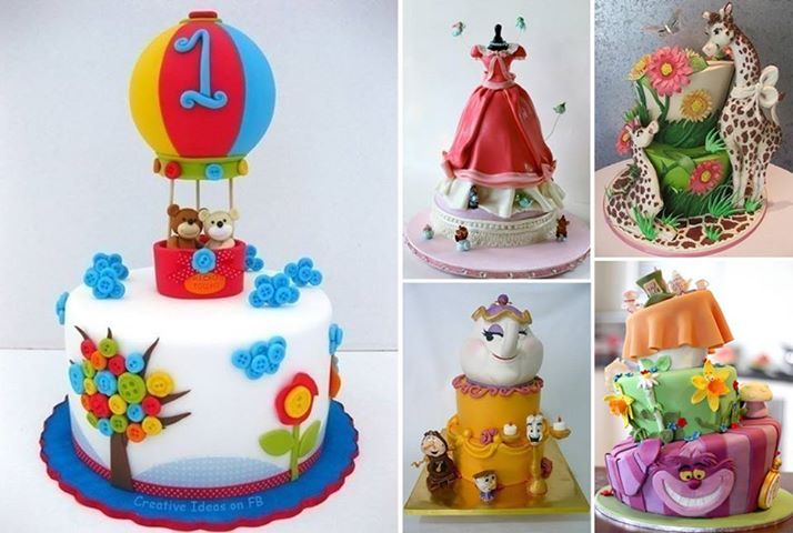 Artistic Land : Cake Decoration Ideas for Kids.