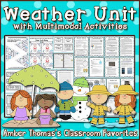 https://www.teacherspayteachers.com/Product/Weather-Unit-with-Multimodal-Activities-1241130