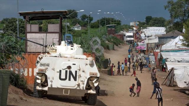 Soldados sursudaneses violan a mujeres delante de campo de ONU