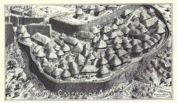 Castro de Coaña Astúrias