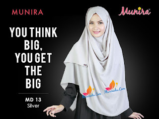 Hijab Munira MD 13 Koleksi jilbab syari terbaru dewasa