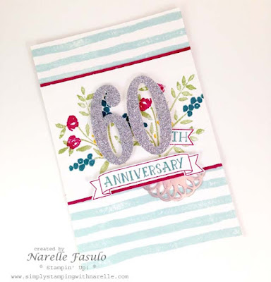 Narelle Fasulo - Independent Stampin' Up! Demonstrator - Simply Stamping with Narelle - Number of Years