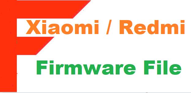 Xiaomi Redmi S2 Firmware Flash File Download