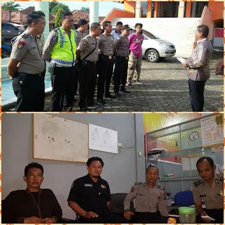 Polres Muba Tingkatkan Pengamanan Di Kantor KPUD dan Panwaslu