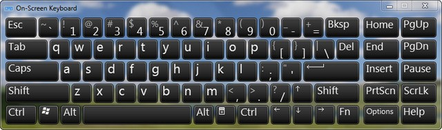 Windows On-Screen Keyboard