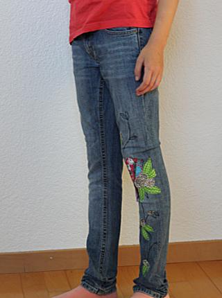 Jeans enger nähen