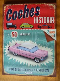 libro maquetas de papel coches antiguos