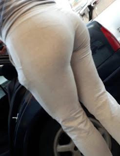 Señora buenas nalgas pants