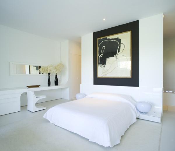 Lindos dormitorios en color blanco dormitorios colores y - Dormitorio en blanco ...