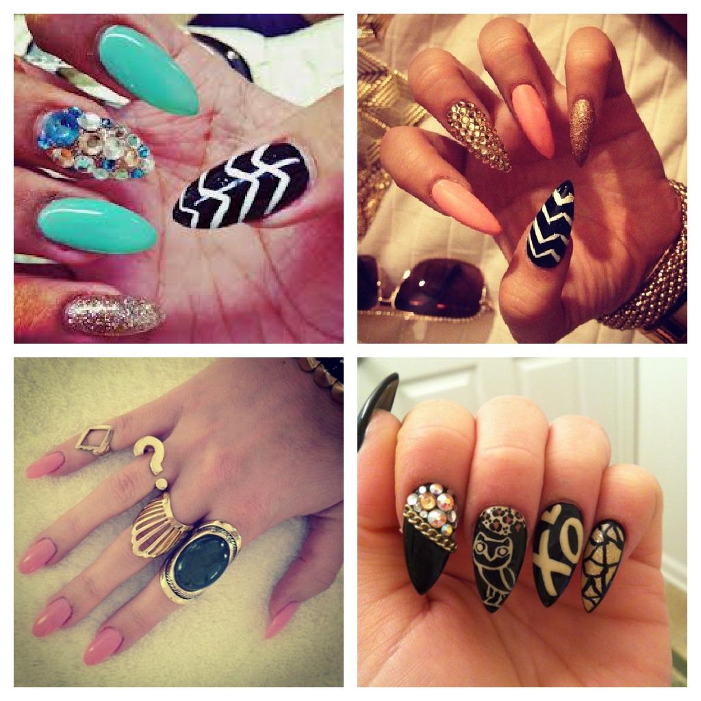 Stiletto Nails Designs - Pccala
