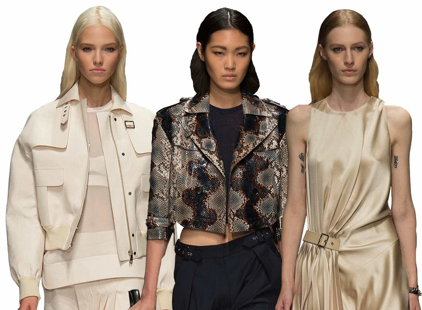 Te Dore Tought With Men Inspired Pieces But Still Feminine And With A Soft Side
