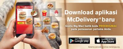 Promo Terbaru McDonald FreeBigMac 2017