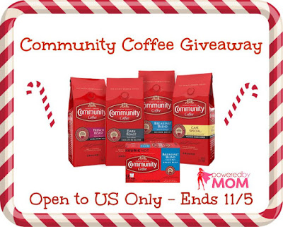 Enter the Community Coffee Giveaway. Ends 11/5