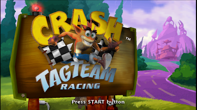 Crash Tag Team Racing PSP ISO Free Download & PPSSPP Setting