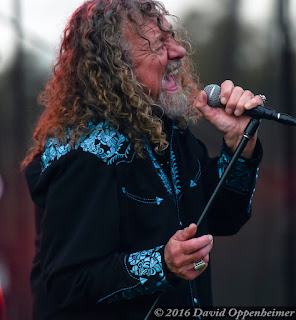 Robert Plant performing at Lock'n Festival 2015