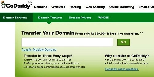 How to Transfer Domain from Name.Com to GoDaddy