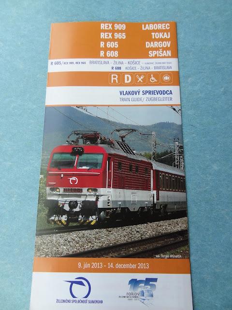 trem eslováquia
