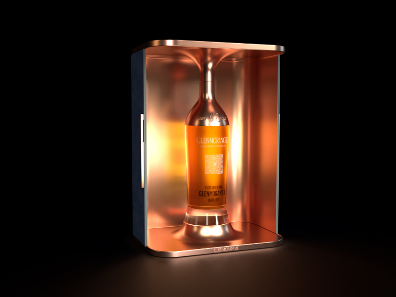 Glenmorangie 40 year old concept