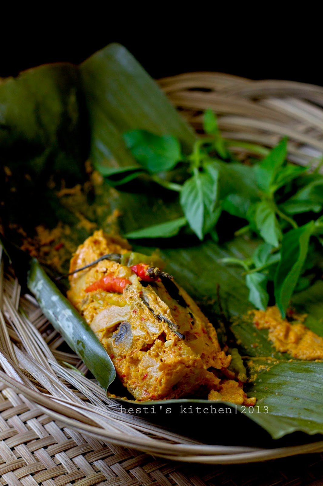 Resep Pepes Jamur Tiram : resep, pepes, jamur, tiram, HESTI'S, KITCHEN, Yummy, Tummy:, Pepes, Jamur