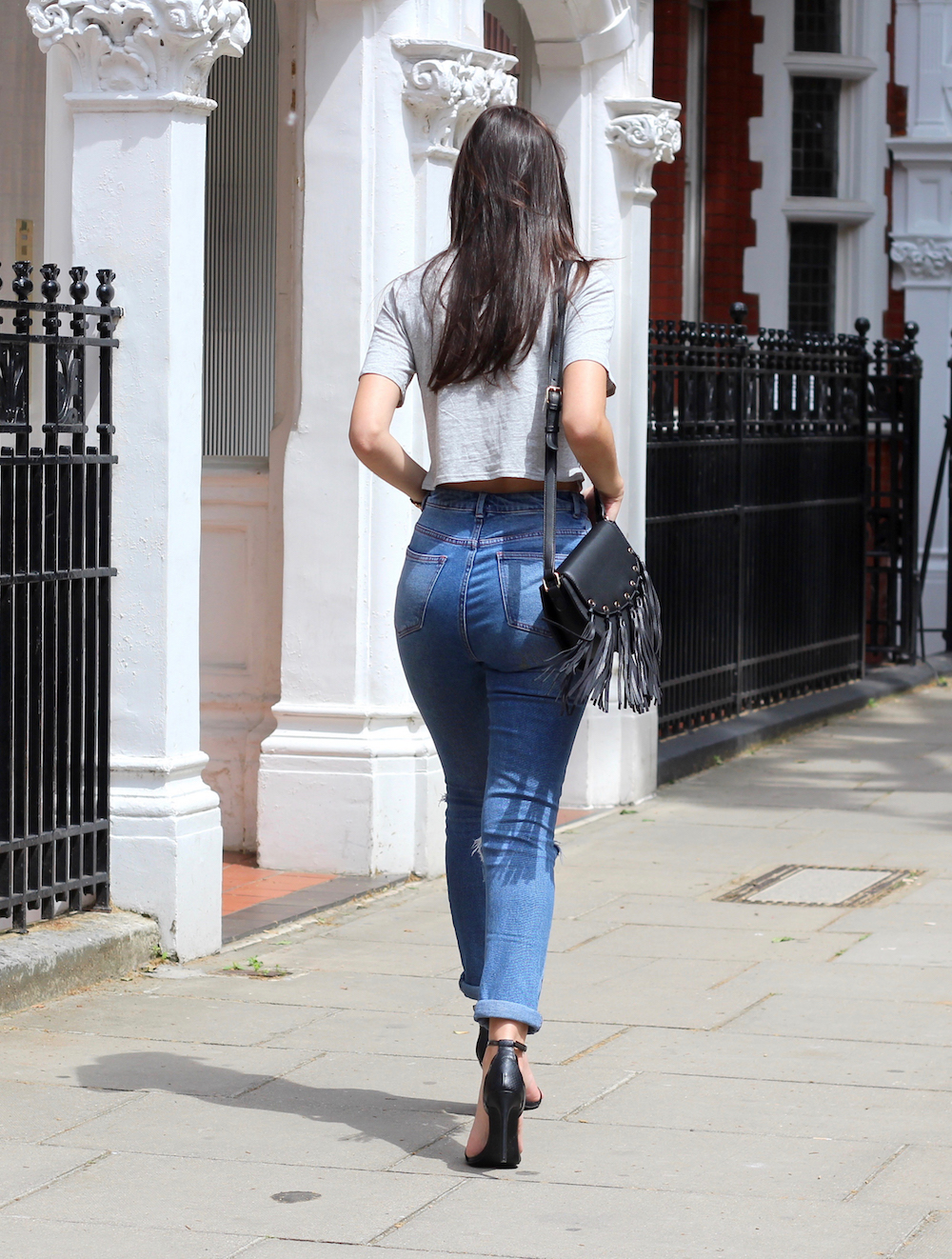 asos mom jeans denim fashion blogger