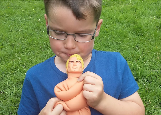 Stretching Stretch Armstrong doll review