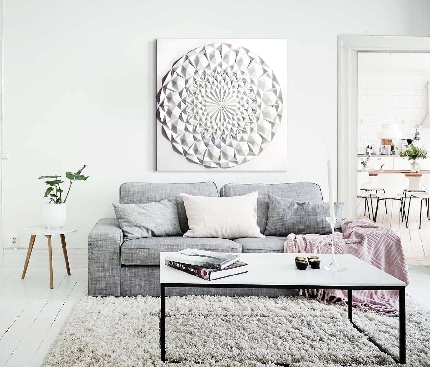 Sensaciones de hogar cuadros modernos mandalas - Cuadros para encima del sofa ...