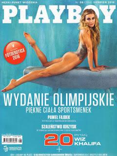 Revista Playboy Polonia-Agosto 2016 PDF