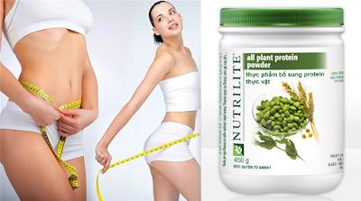 Thực đơn Nutrilife Protien Amway giảm cân