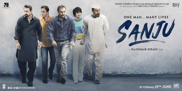 Sanju 2018 Hindi Movie 720p Full HD Direct Download for Free