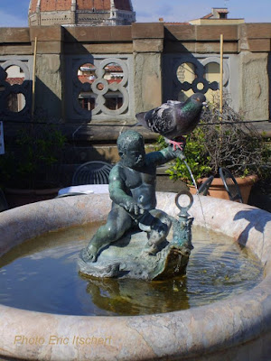 Voyage à Florence, Galerie des Offices, Florence, Sculptures, fontaine,