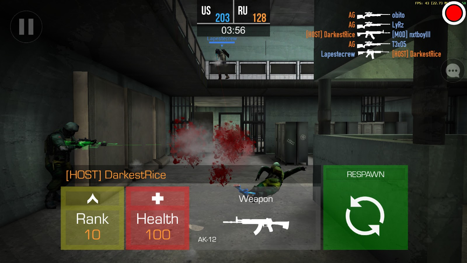 Bullet Force modded apk