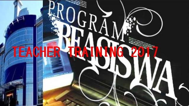 Beasiswa Untuk Guru Dari Program Teacher Training 2017