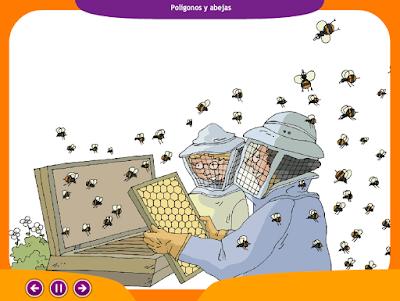 http://www.ceiploreto.es/sugerencias/juegos_educativos_3/13/1_Poligonos_y_abejas/index.html