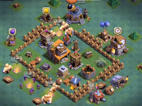 Layout Base Aula Tukang Level 4 Terbaik Clash Of Clans