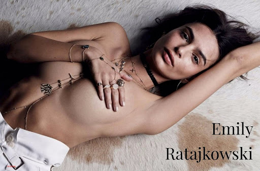 Emily Ratajkowski topless photo shoot for Be Cool Magazine