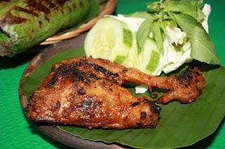 Resep Masakan Ayam bakar kemangi
