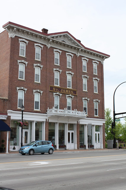Historic St. James Hotel in Red Wing, Minnesota
