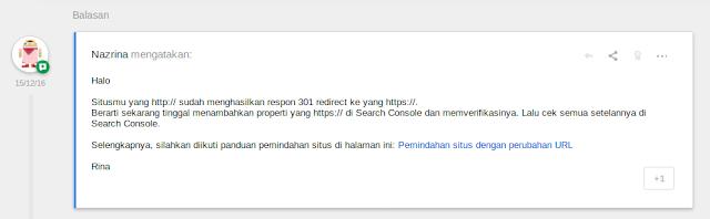 saya tetapkan untuk migrasi HTTPS dari layanan pihak ketiga  Hal yang Perlu Dilakukan Setelah Migrasi ke HTTPS (Blogger)
