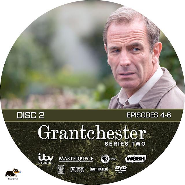 Grandchester Season 2 Disc 2 DVD Label
