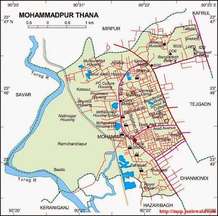 BD Maps Archive Of All Kind Of Bangladeshi Map - Map of dhaka division bangladesh